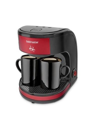 Goldmaster Bi Kahve Çift Kupalı Filtre Kahve Makinesi Renkli